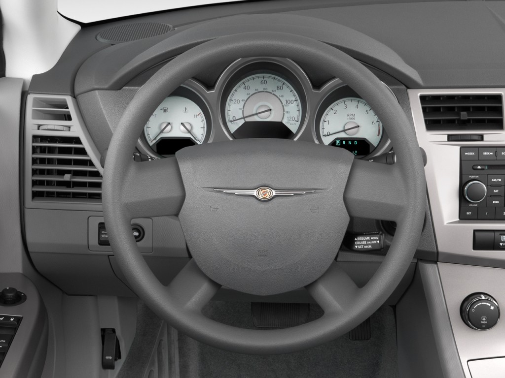 Chrysler Sebring Door Convertible Touring Steering Wheel L