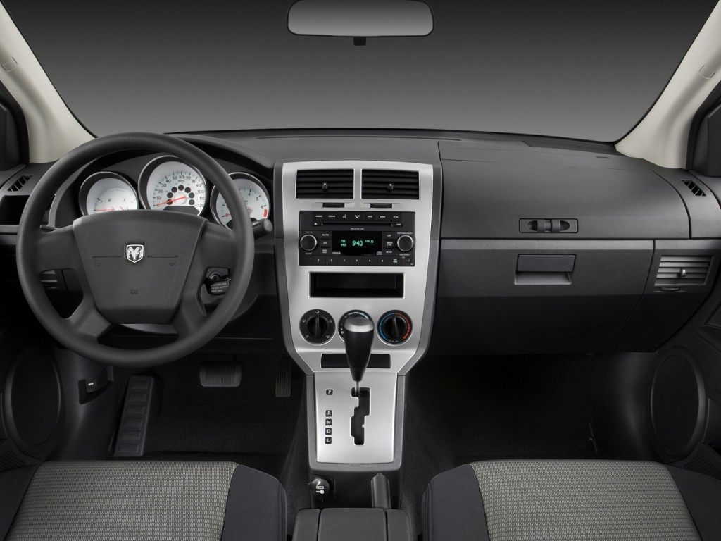 Dodge Dart Srt >> Image: 2009 Dodge Caliber 4-door HB SXT Dashboard, size ...