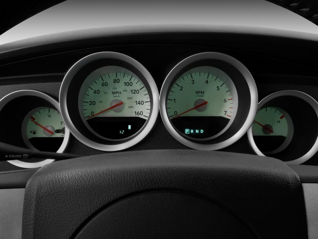 Image 2009 Dodge Charger 4 Door Sedan R T Rwd Instrument Cluster Size 1024 X 768 Type Gif