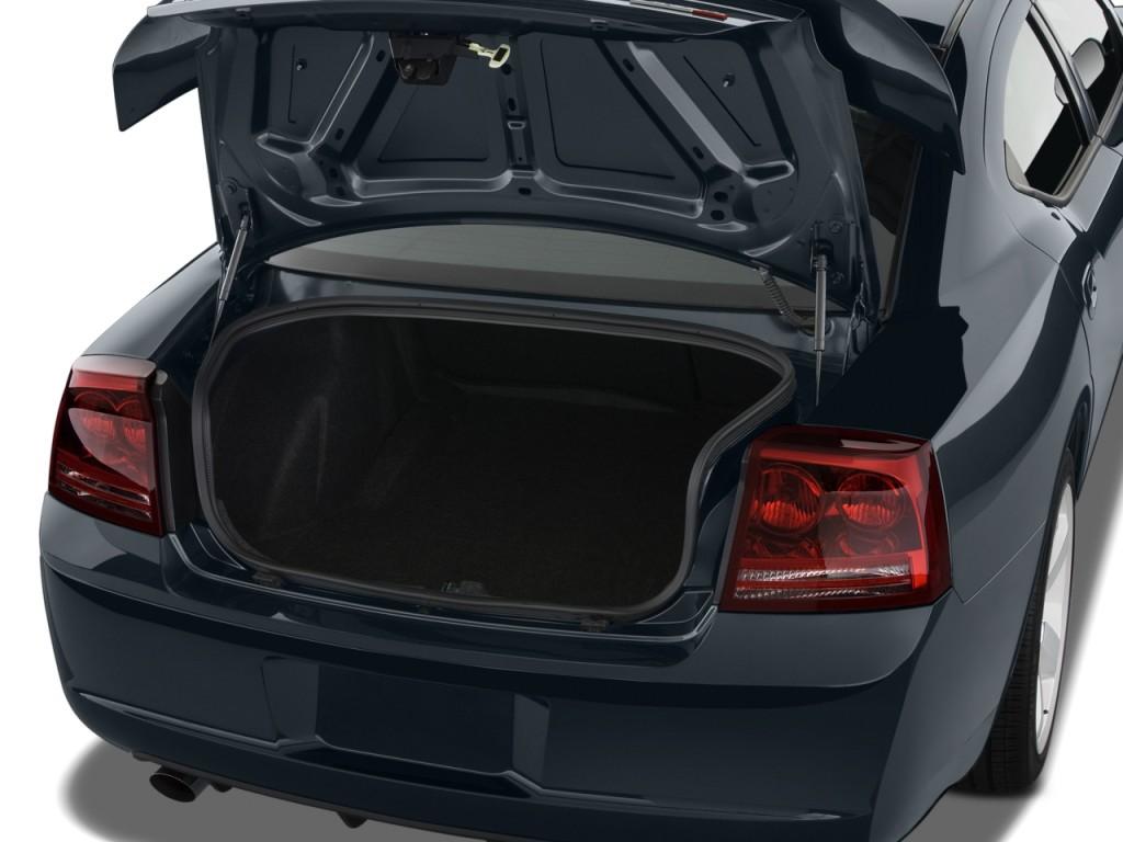 Image 2009 Dodge Charger 4 Door Sedan Srt8 Rwd Trunk