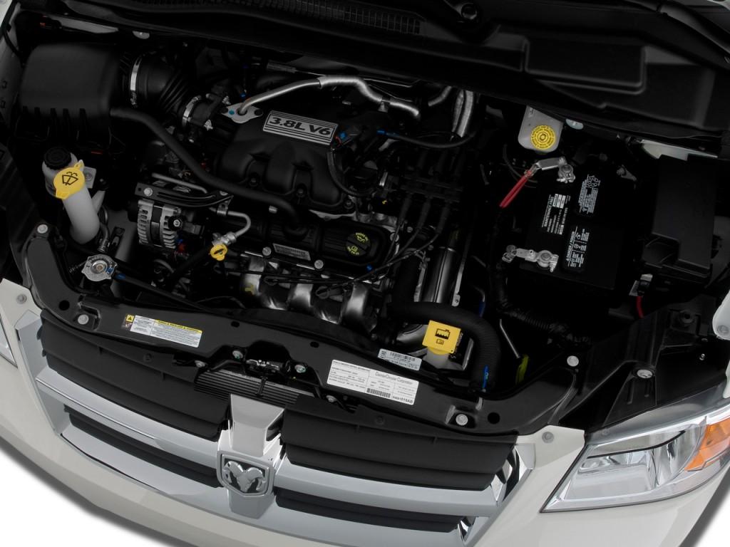 Image 2009 Dodge Grand Caravan 4 Door Wagon Sxt Engine