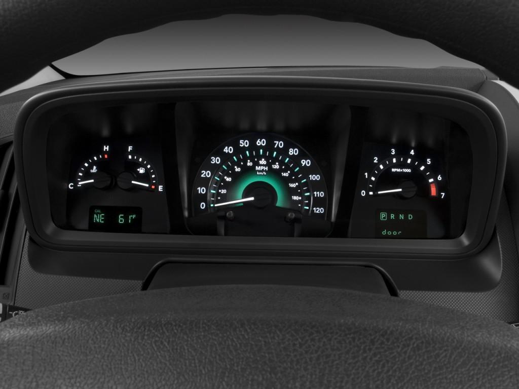 Dodge Journey Awd Door Sxt Instrument Cluster L on 2009 Dodge Intrepid