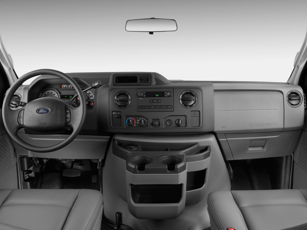 Image: 2009 Ford Econoline Cargo Van E-150 Commercial Dashboard, size: 1024 x 768, type: gif ...