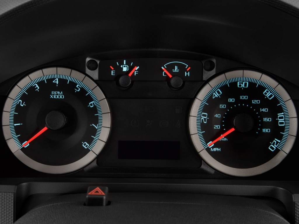 Image: 2009 Ford Escape 4WD 4-door I4 Auto XLT Instrument Cluster, size: 1024 x 768, type: gif ...