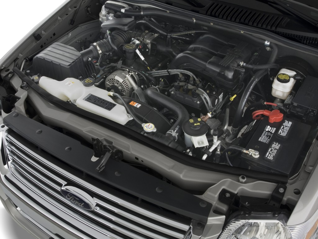Image 2009 Ford Explorer Rwd 4 Door V6 Xlt Engine Size