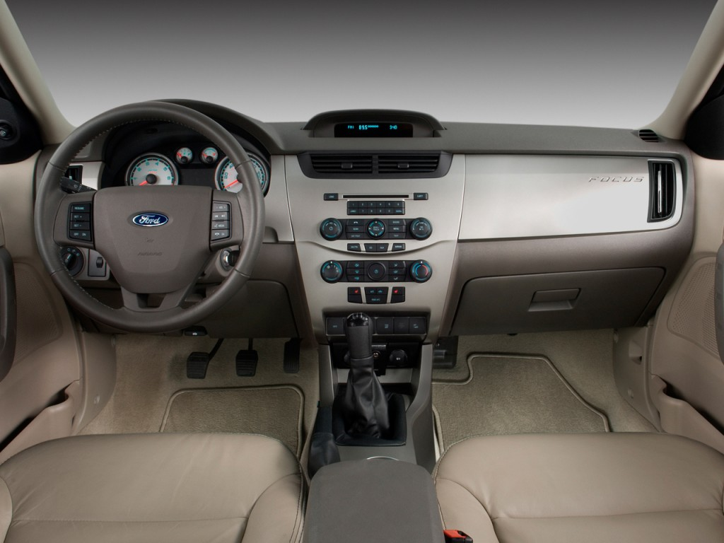 image 2009 ford focus 4 door sedan se dashboard size. Black Bedroom Furniture Sets. Home Design Ideas