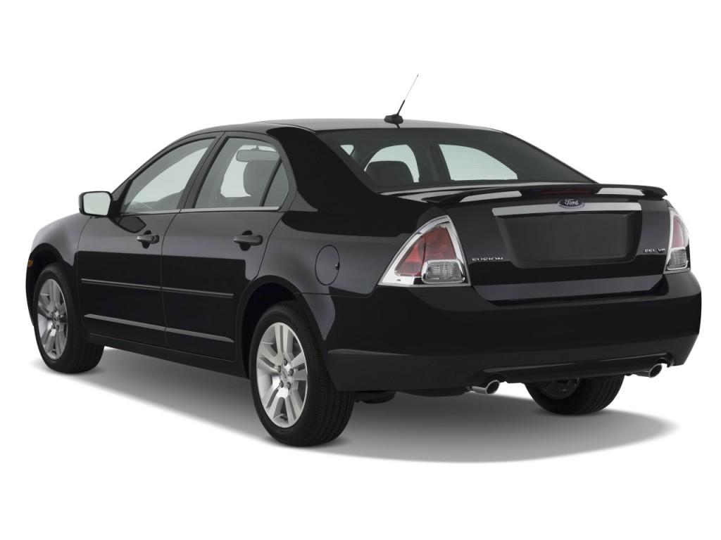 Ford ford fusion v6 : Image: 2009 Ford Fusion 4-door Sedan V6 SEL FWD Angular Rear ...