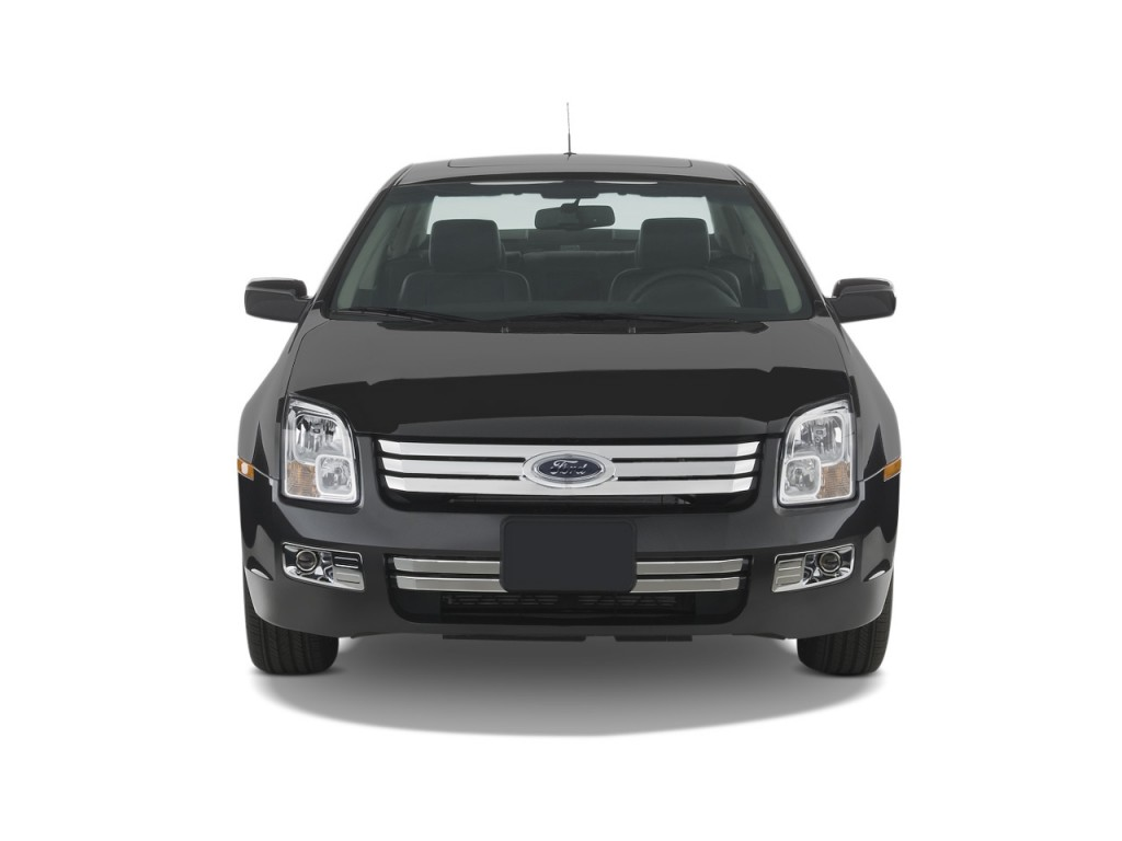 Image: 2009 Ford Fusion 4-door Sedan V6 SEL FWD Front ...