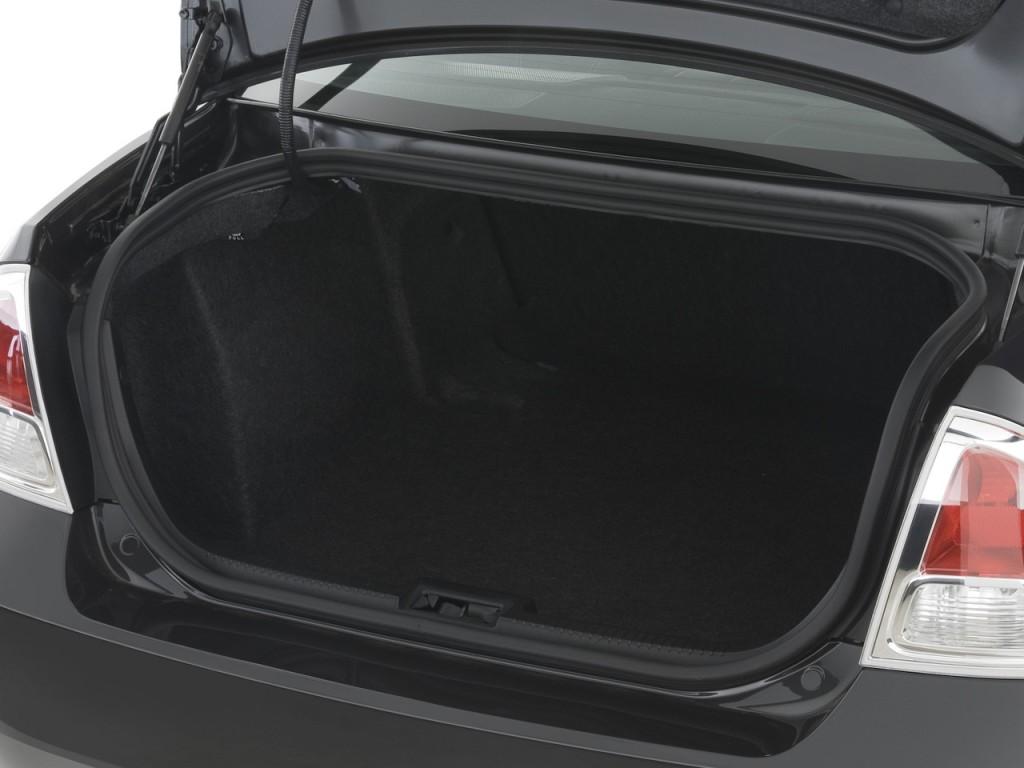 image 2009 ford fusion 4 door sedan v6 sel fwd trunk. Black Bedroom Furniture Sets. Home Design Ideas