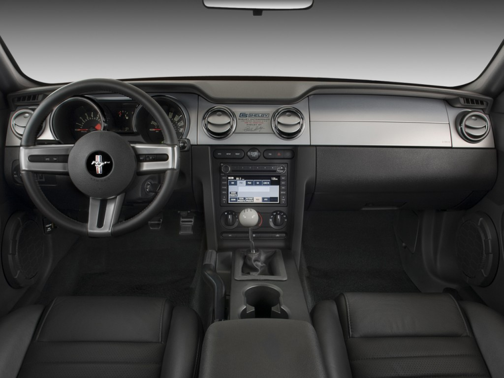 Image: 2009 Ford Mustang 2-door Coupe Shelby GT500 Dashboard, size: 1024 x 768, type: gif ...