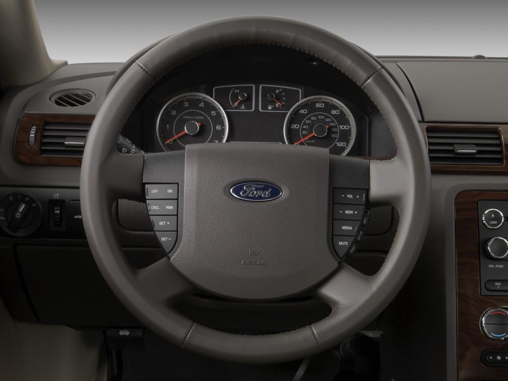 Ford Taurus Door Sedan Sel Fwd Steering Wheel L