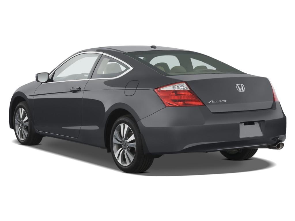 Perfect 2009 Honda Accord Coupe 2 Door I4 Auto EX L Angular Rear Exterior View