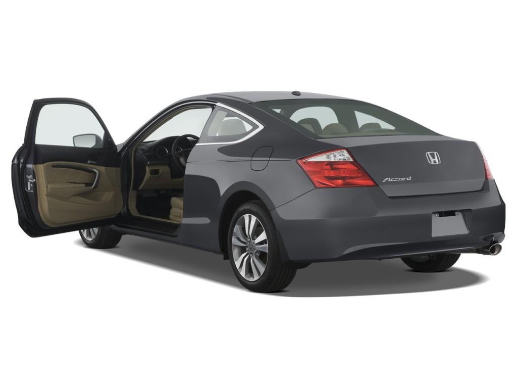 2009 Honda Accord Coupe 2 Door I4 Auto EX L Open Doors