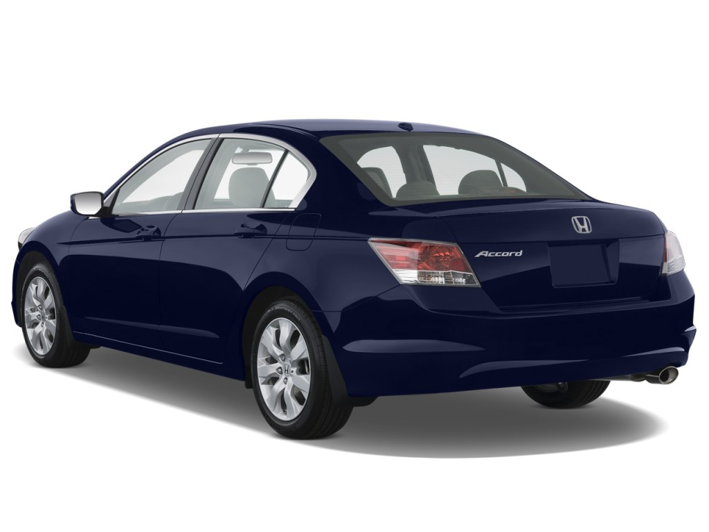 Image 2009 Honda Accord Sedan 4 Door I4 Auto Ex L Angular