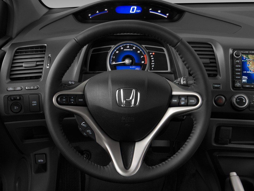 image 2009 honda civic coupe 2 door auto ex l w navi steering wheel size 1024 x 768 type. Black Bedroom Furniture Sets. Home Design Ideas