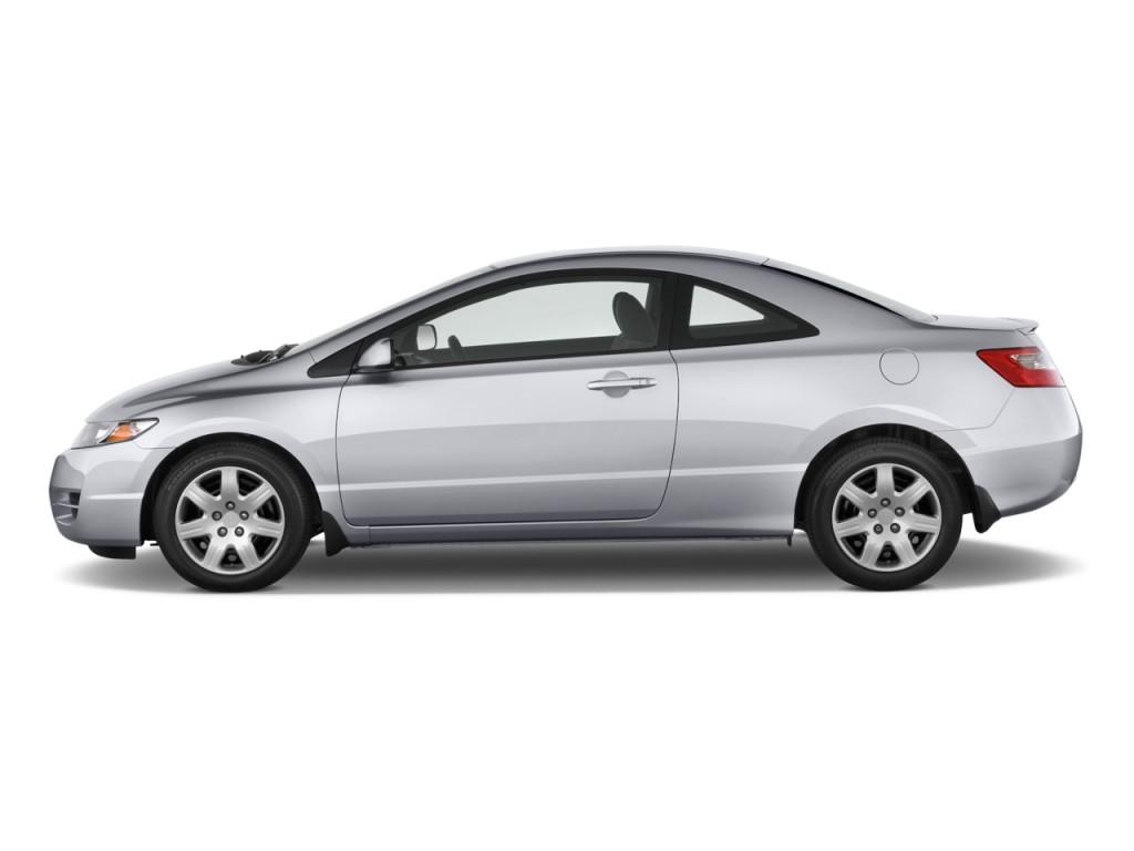 Honda Civic Coupe Door Auto Lx Side Exterior View L