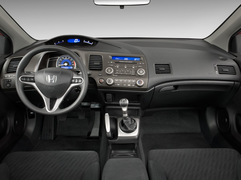 2008 Honda Accord Coupe Interior >> Image: 2009 Honda Civic Coupe 2-door Man EX Dashboard, size: 1024 x 768, type: gif, posted on ...