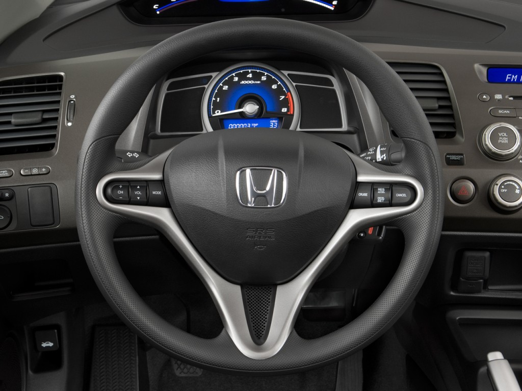 image 2009 honda civic coupe 2 door man ex steering wheel size 1024 x 768 type gif posted. Black Bedroom Furniture Sets. Home Design Ideas