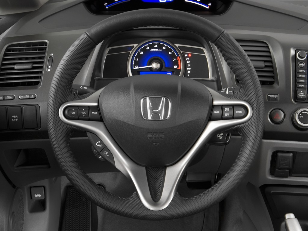 image 2009 honda civic sedan 4 door auto ex l w navi steering wheel size 1024 x 768 type. Black Bedroom Furniture Sets. Home Design Ideas