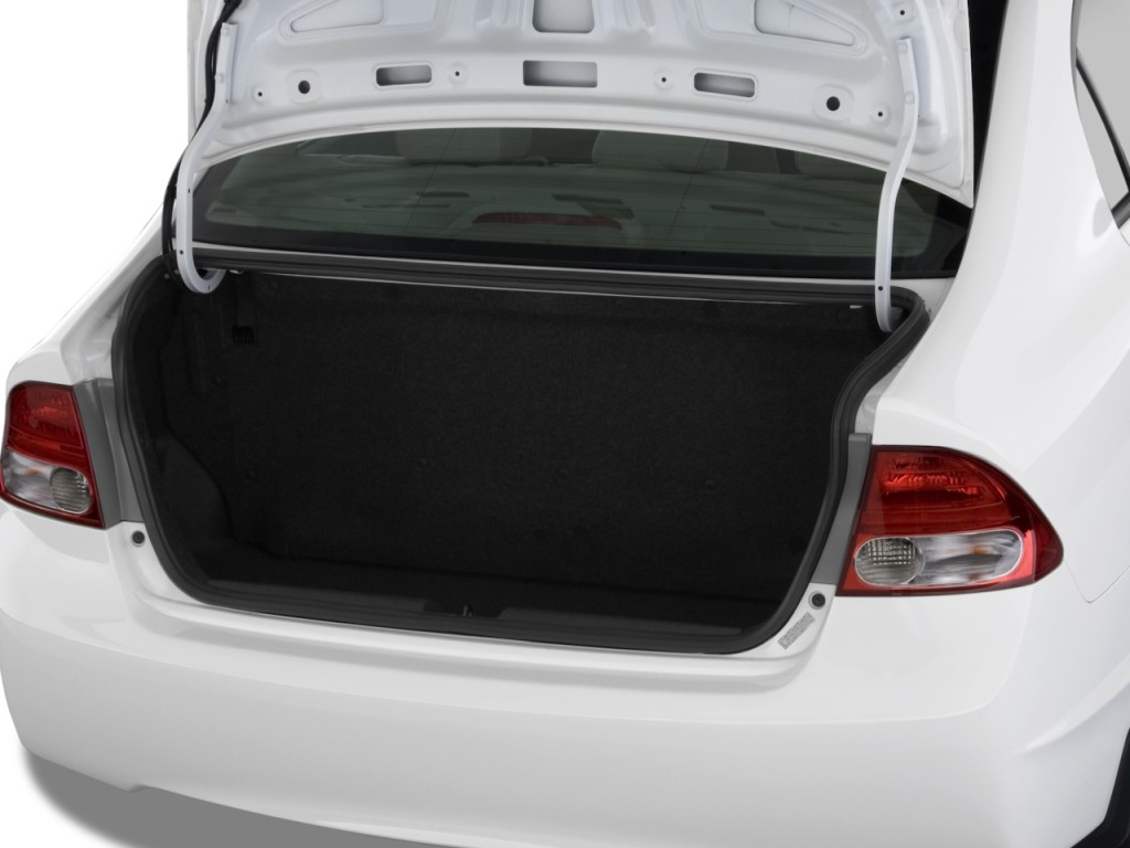 image 2009 honda civic sedan 4 door auto gx trunk size 1024 x 768 type gif posted on. Black Bedroom Furniture Sets. Home Design Ideas
