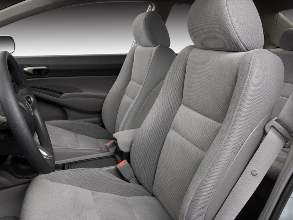 image 2009 honda civic sedan 4 door auto lx front seats. Black Bedroom Furniture Sets. Home Design Ideas