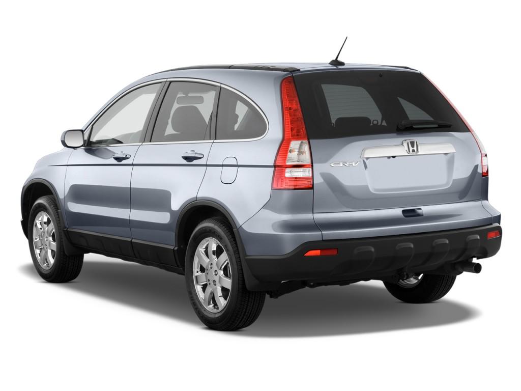Image: 2009 Honda CR-V 2WD 5dr EX-L w/Navi Angular Rear Exterior View, size: 1024 x 768, type ...