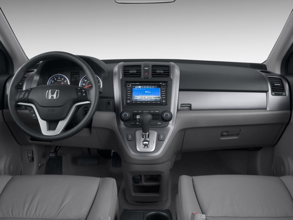 Image 2009 Honda Cr V 2wd 5dr Ex L W Navi Dashboard Size