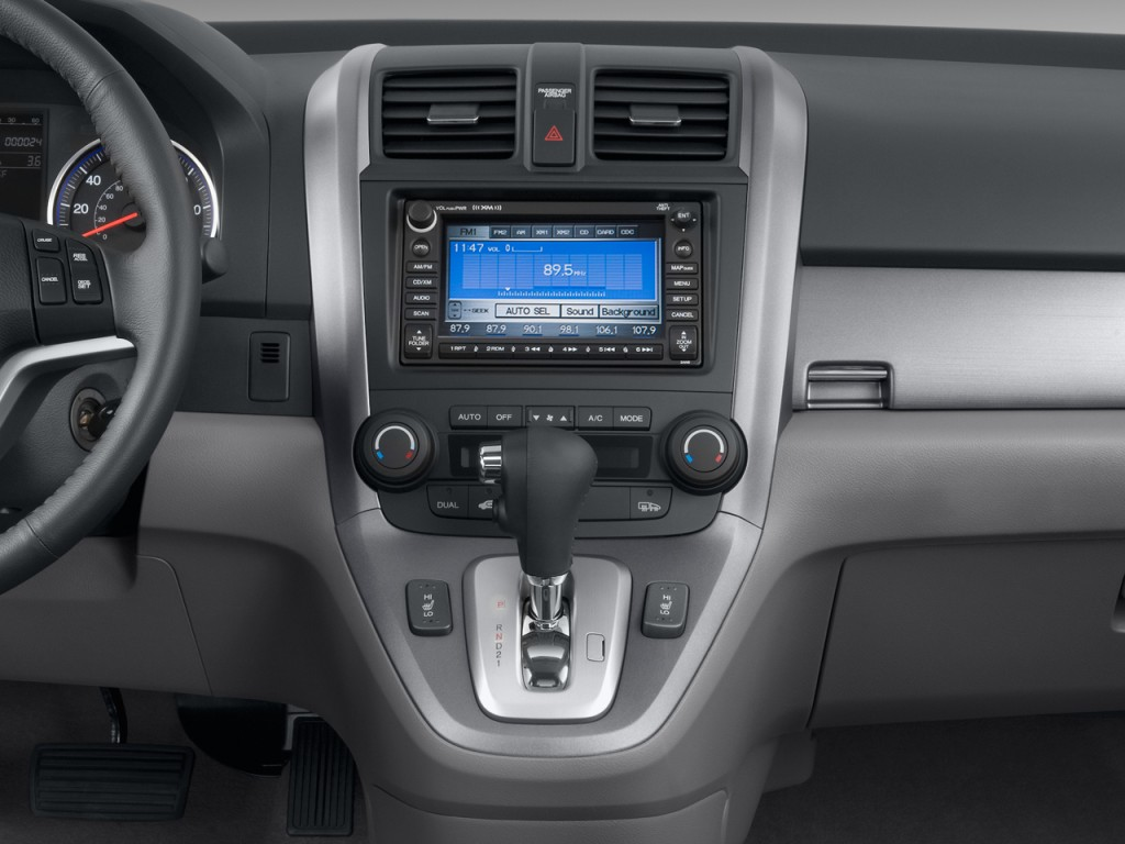 2015 Honda Pilot Ex L >> Image: 2009 Honda CR-V 2WD 5dr EX-L w/Navi Instrument Panel, size: 1024 x 768, type: gif, posted ...