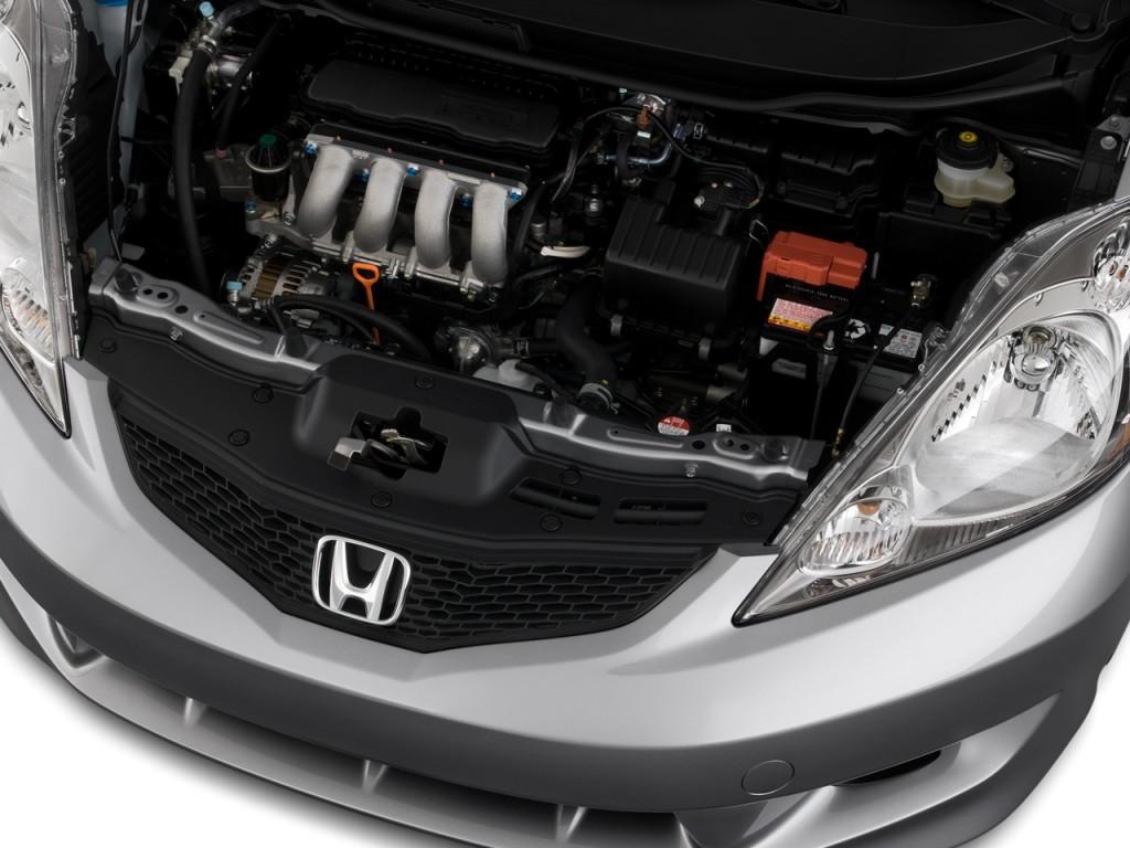 Image 2009 Honda Fit 5dr Hb Auto Sport W Navi Engine