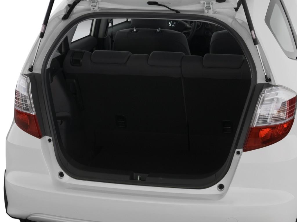 Image 2009 Honda Fit 5dr Hb Auto Trunk Size 1024 X 768