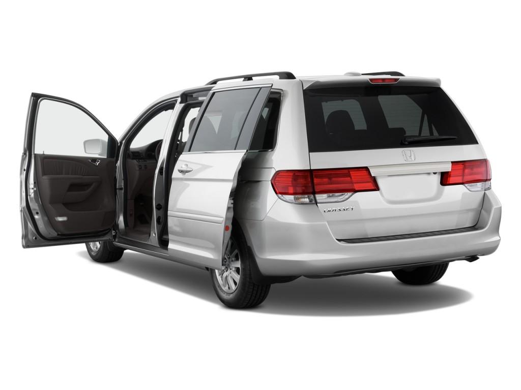 Image 2009 Honda Odyssey 4 Door Wagon Ex L Open Doors