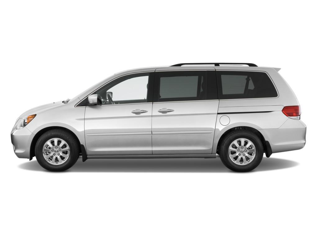 Image 2009 Honda Odyssey 4 Door Wagon Ex L Side Exterior View Size 1024 X 768 Type Gif