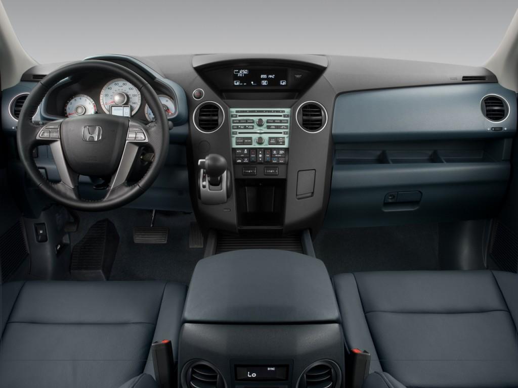 Image 2009 Honda Pilot 2wd 4 Door Exl W Res Dashboard