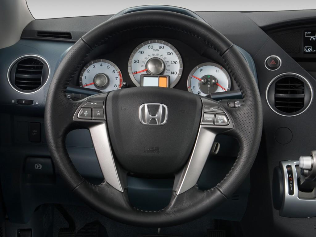 image 2009 honda pilot 2wd 4 door lx steering wheel size 1024 x 768 type gif posted on. Black Bedroom Furniture Sets. Home Design Ideas