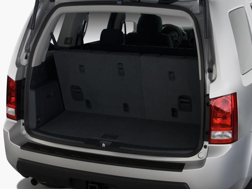 Image 2009 Honda Pilot 2wd 4 Door Lx Trunk Size 1024 X