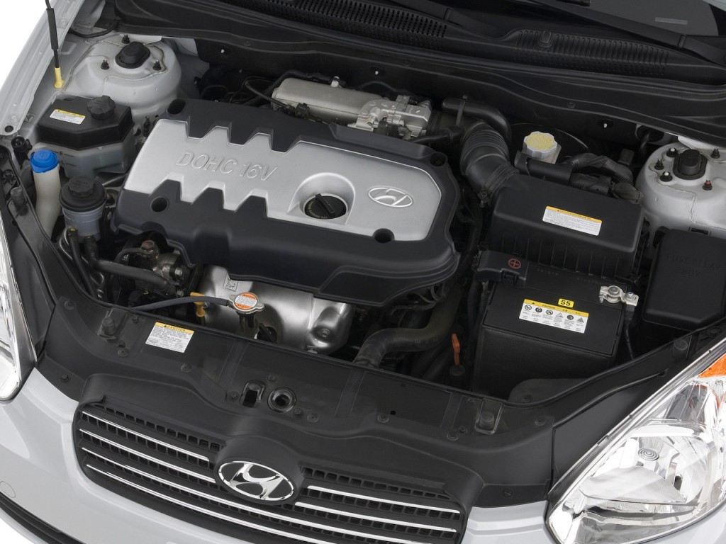 Image 2009 Hyundai Accent 4 Door Sedan Auto Gls Engine