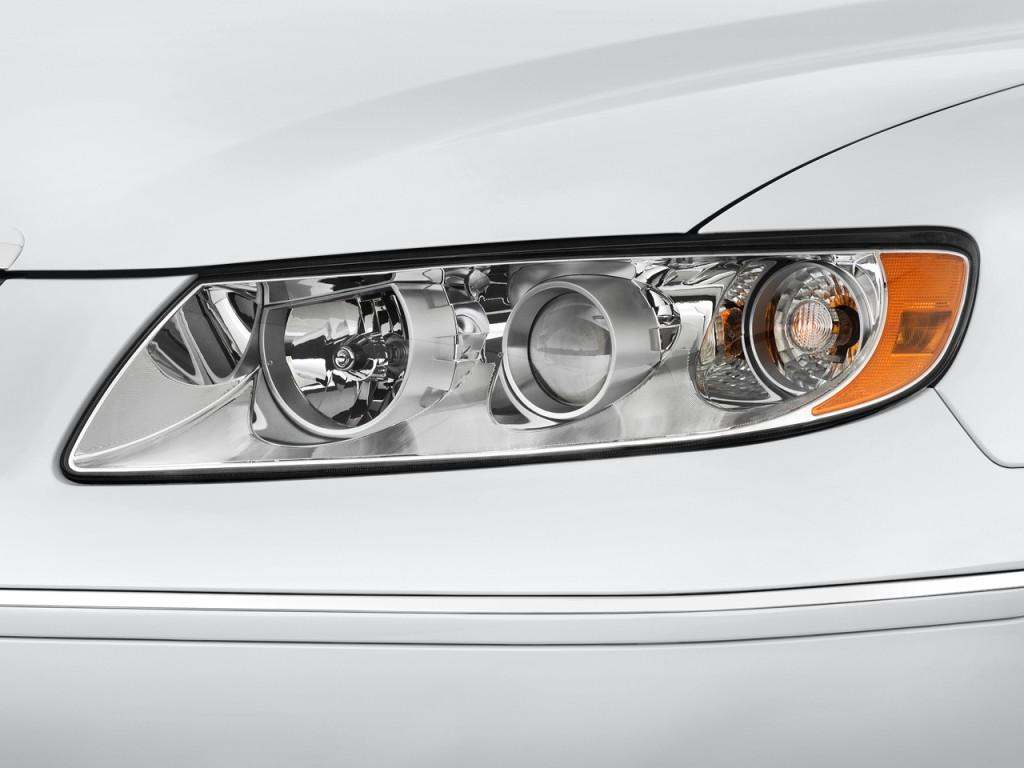 Image: 2009 Hyundai Azera 4-door Sedan Limited Headlight ...