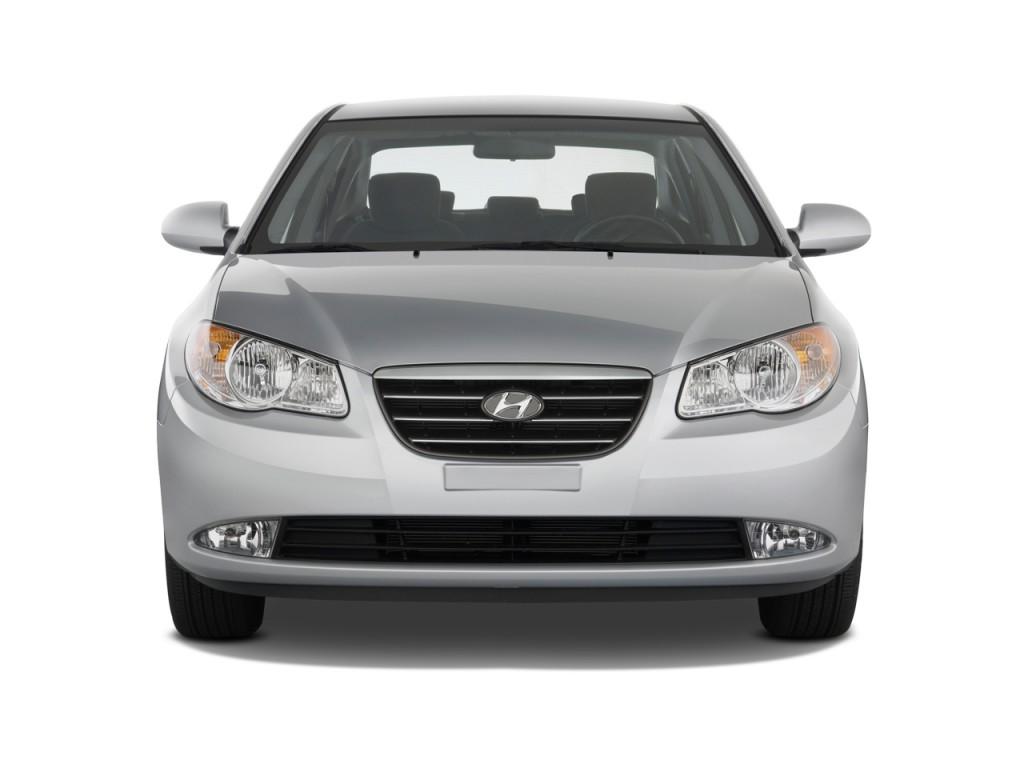 Image 2009 Hyundai Elantra 4 Door Sedan Auto Se Front Exterior View Size 1024 X 768 Type