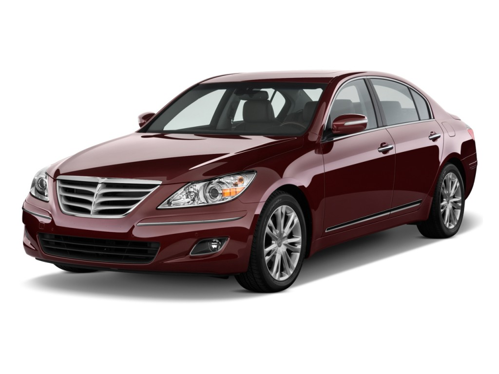 Image 2009 Hyundai Genesis 4 Door Sedan 4 6l V8 Angular