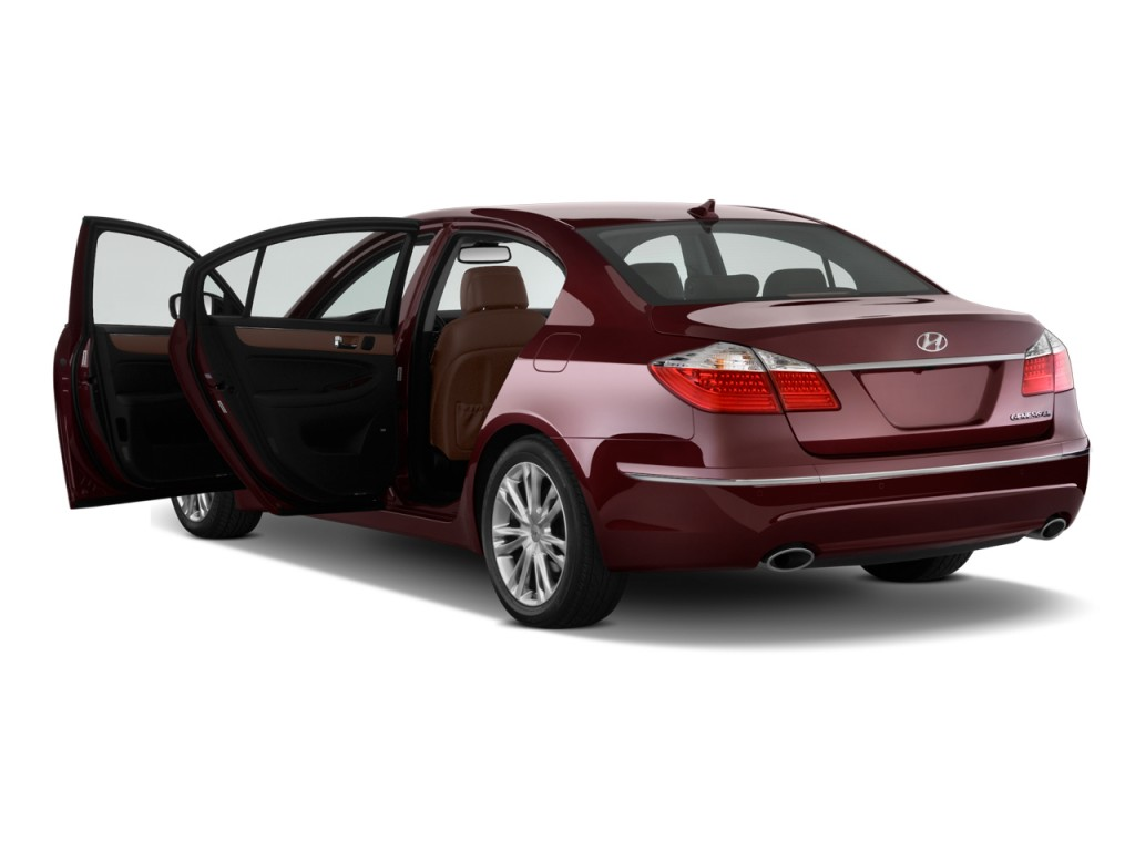 image 2009 hyundai genesis 4 door sedan 4 6l v8 open. Black Bedroom Furniture Sets. Home Design Ideas