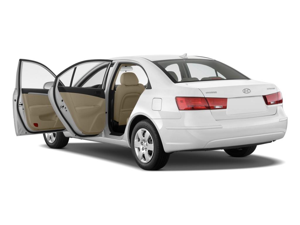 Image: 2009 Hyundai Sonata 4-door Sedan I4 Auto GLS Open ...