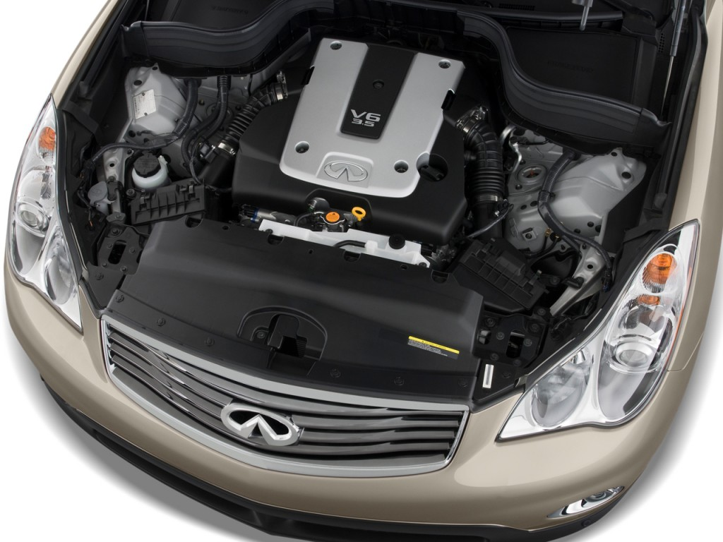 Image: 2009 Infiniti EX35 RWD 4-door Journey Engine, size ...