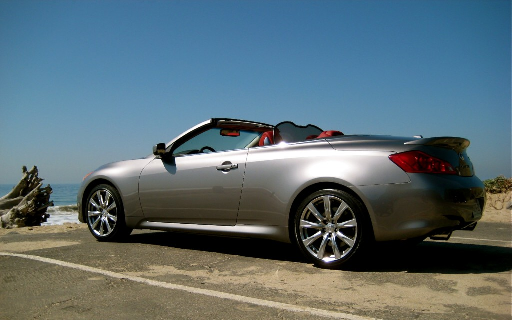 driven 2009 infiniti g37 convertible. Black Bedroom Furniture Sets. Home Design Ideas