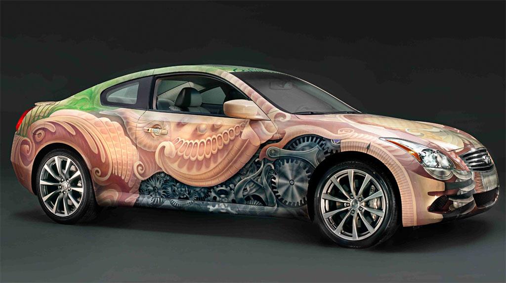 Subaru Wrx 0 60 >> Infiniti Celebrates 20 Years With G37 Coupe Art Car