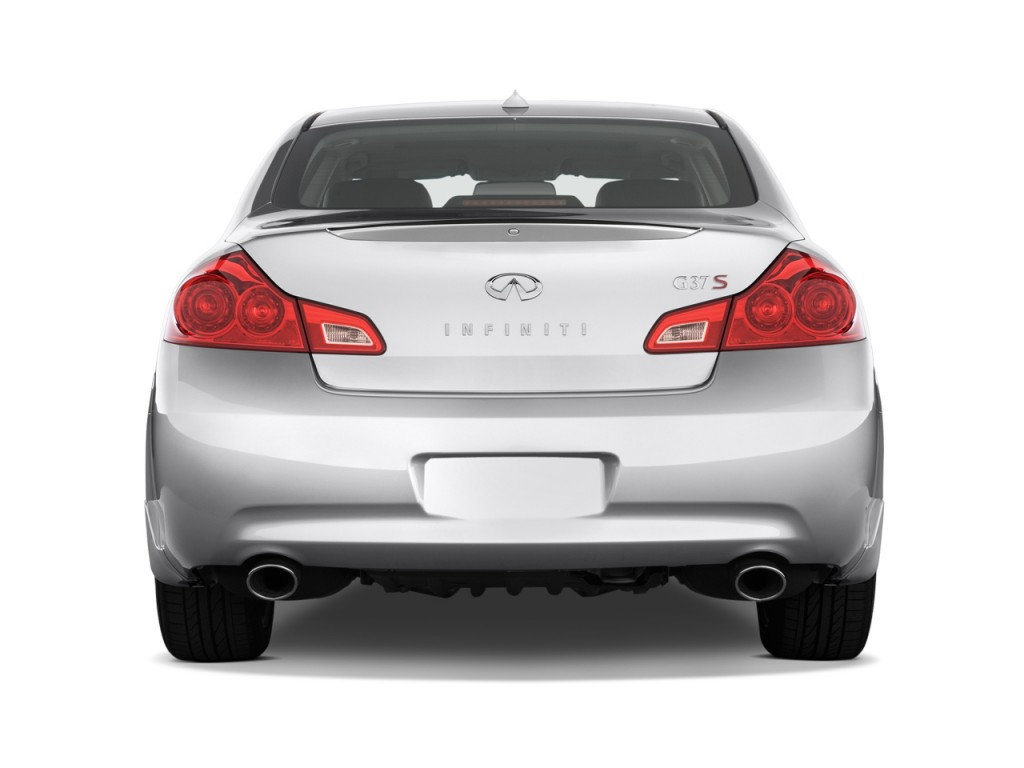 Image: 2009 Infiniti G37 Sedan 4-door Sport RWD Rear Exterior View ...