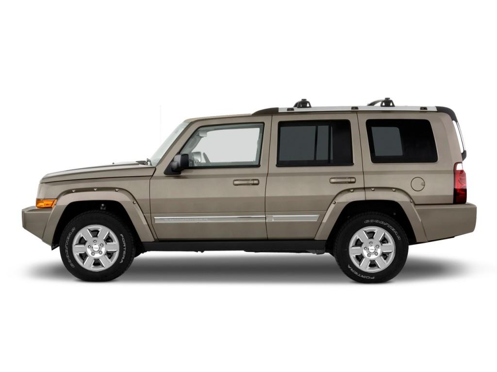 2009 jeep commander rwd 4 door limited side exterior view