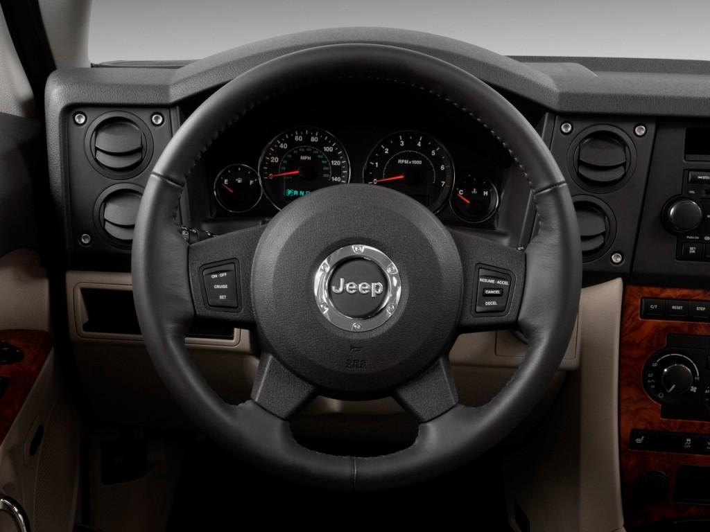 Eagle Auto Sales >> Image: 2009 Jeep Commander RWD 4-door Limited Steering Wheel, size: 1024 x 768, type: gif ...