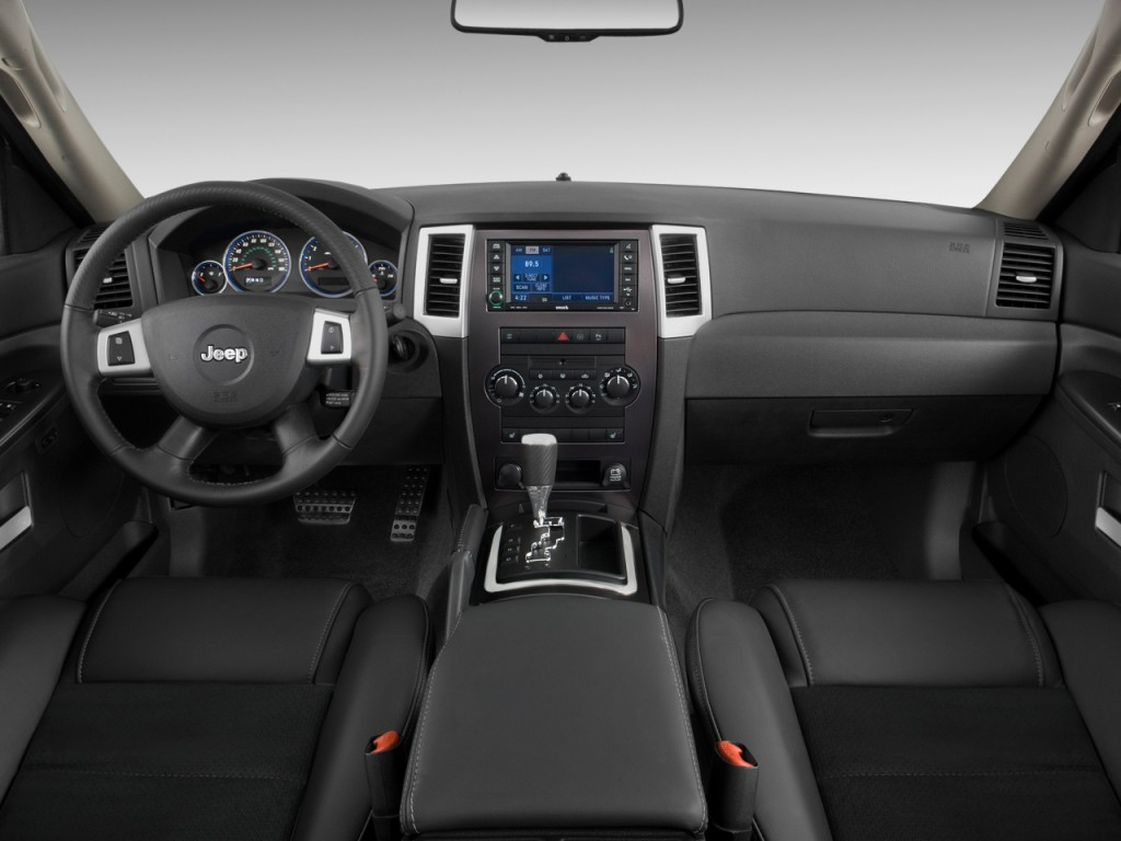 image: 2009 jeep grand cherokee 4wd 4-door srt-8 dashboard, size