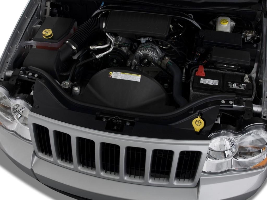 Image 2009 jeep grand cherokee rwd 4 door laredo engine for Jeep grand cherokee laredo motor
