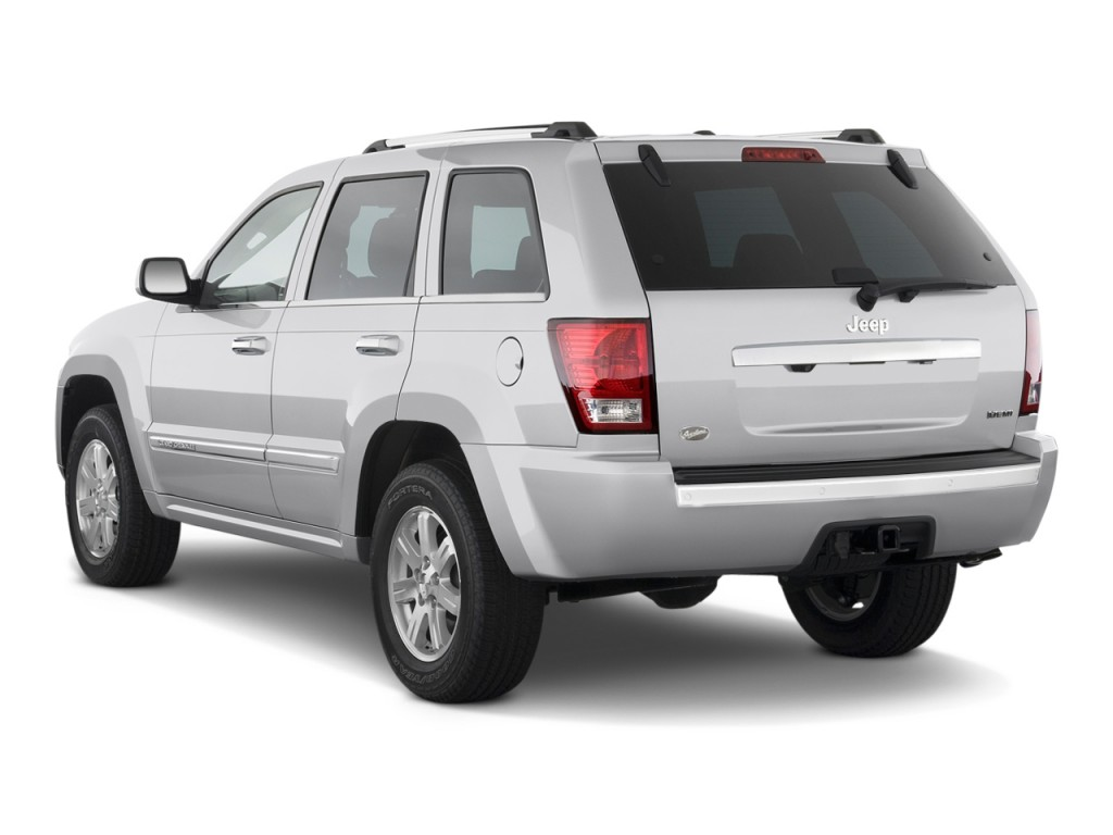 image 2009 jeep grand cherokee rwd 4 door overland ltd avail angular rear exterior view size. Black Bedroom Furniture Sets. Home Design Ideas